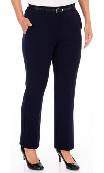 Anna Rose Straight Leg Trousers 27 inch Midnight