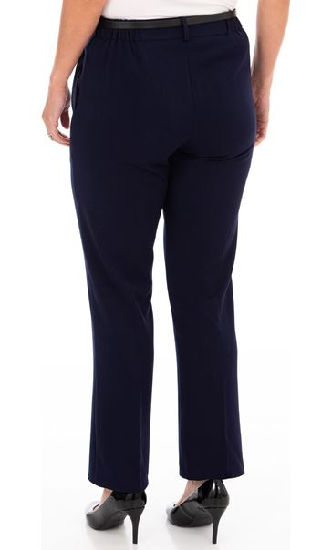 Anna Rose Straight Leg Trousers 27 inch Midnight - Gallery Image 2