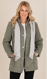 Anna Rose Coat With Scarf