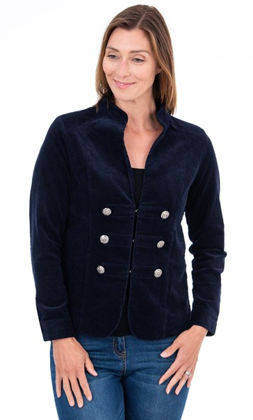 Cord Jacket Midnight - Gallery Image 1
