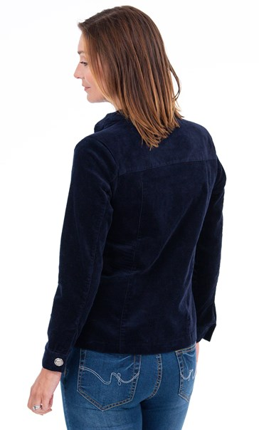 Cord Jacket Midnight - Gallery Image 2
