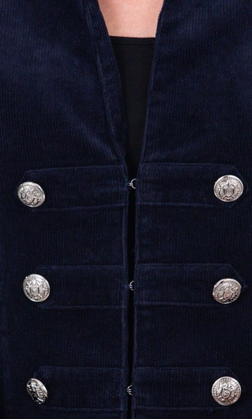 Cord Jacket Midnight - Gallery Image 3