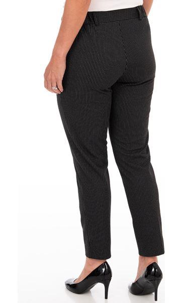 Anna Rose Fine Stripe Trousers