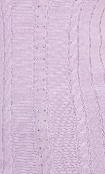 Anna Rose Embellished Knit Top Pale Lilac - Gallery Image 4