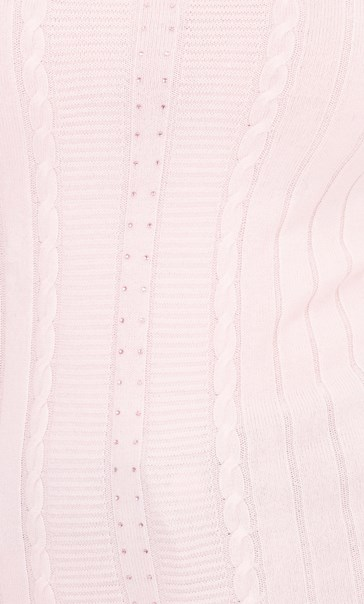 Anna Rose Embellished Knit Top Pale Pink - Gallery Image 4