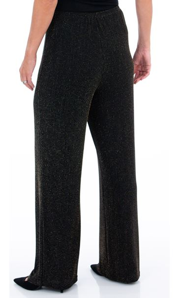 Sparkle Ribbed Wide Leg Trousers