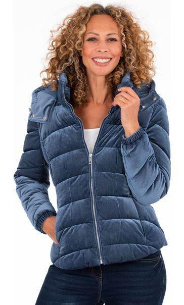 Cord Padded Coat