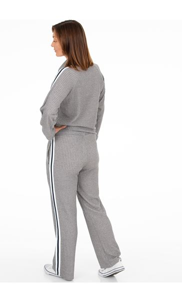 Cosy Jersey Side Stripe Trousers