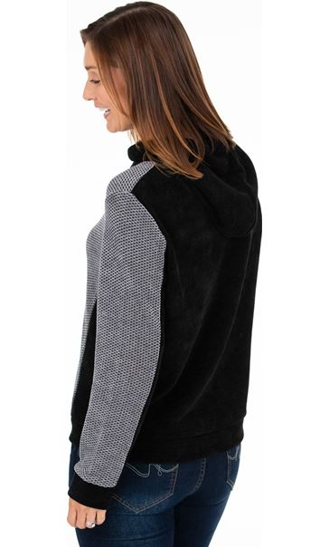 Supersoft Knitted Long Sleeve Hoodie