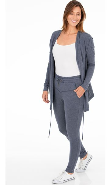 Cosy Jersey Slim Fit Trousers