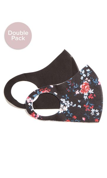 Double Pack Face Covering - Various