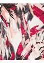 Anna Rose Short Sleeve Printed Top Beetroot - Gallery Image 3