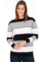 Sparkle And Stripe Jumper
