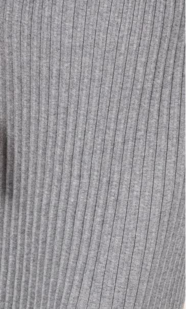 Pleated Knit Pull On Maxi Skirt Grey - Gallery Image 3