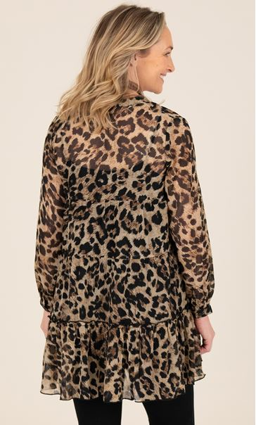 Printed Tiered Tunic
