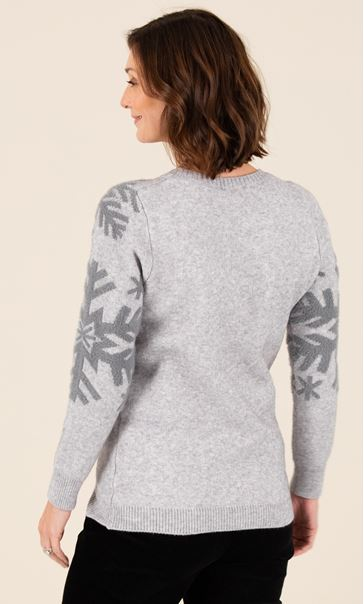 Snowflake Patterned Jumper