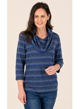 Cowl Neck Lightweight Jumper