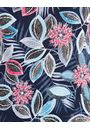 Anna Rose Short Sleeve Printed Top Blue/Pink - Gallery Image 4