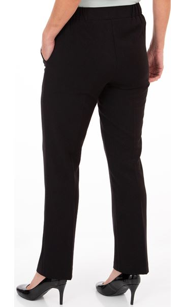 Anna Rose Straight Leg Trouser 29 inch Black - Gallery Image 2
