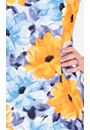 Anna Rose Floral Print Shift Dress Midnight/Peach/Blue - Gallery Image 3