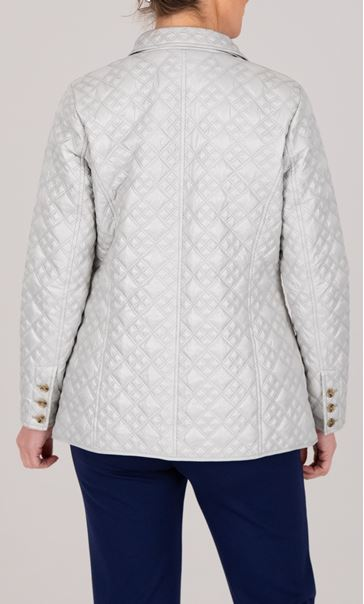 Anna Rose Quilted Button Jacket