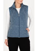 Anna Rose Zip Up Fleece Gilet