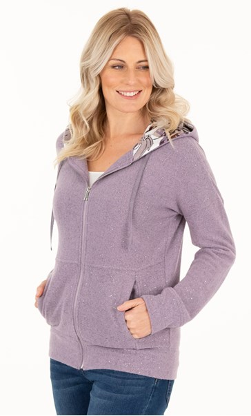 Supersoft Shimmer Hoodie