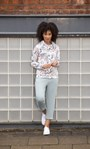 Cosy Cropped Jersey Joggers Green Mix - Gallery Image 3