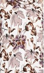 Supersoft Floral Printed Cowl Neck Sweatshirt Ivory Floral - Gallery Image 5