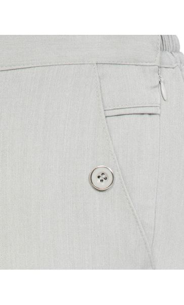 Anna Rose 27 Inch Straight Leg Trousers Grey - Gallery Image 4
