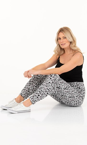 Super Soft Brushed Animal Print Joggers