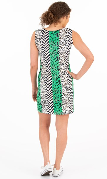 Animal Printed Shift Dress