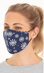 Double Layer Cotton Floral Face Covering Various - Gallery Image 1