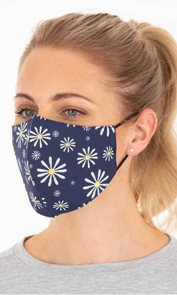 Double Layer Cotton Floral Face Covering Various