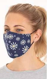 Double Layer Cotton Floral Face Covering