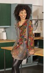 Knitted Printed Tunic
