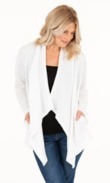 Waterfall Jersey Cardigan