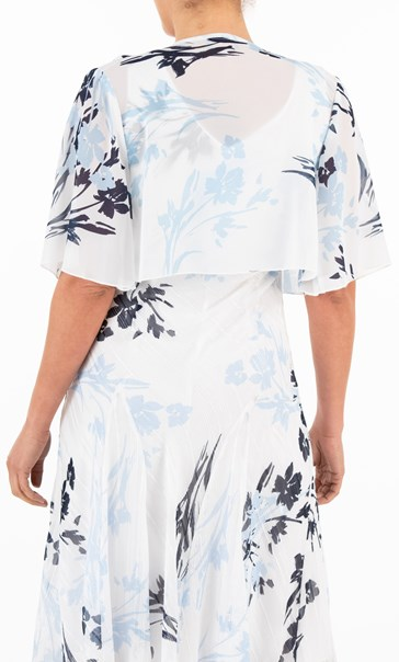 Anna Rose Printed Waterfall Cover Up