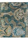 Paisley Printed Cowl Neck Top Emerald Multi - Gallery Image 4