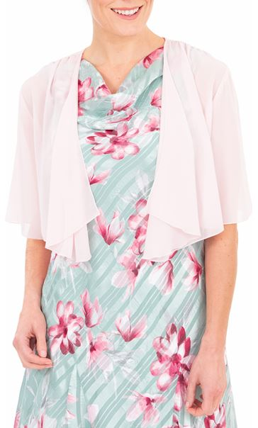 Anna Rose Open Chiffon Cover Up Pink