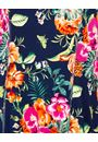 Anna Rose Printed Panelled Jersey Dress Navy/Multi - Gallery Image 3