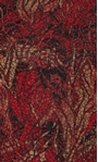 Anna Rose Printed Jersey Top Red/Gold - Gallery Image 3
