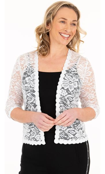Lace Open Cover Up