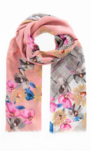 Anna Rose Floral Print Scarf