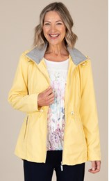 Anna Rose Hooded Zip Jacket