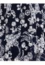 Anna Rose Printed Lace Dress Midnight/Ivory - Gallery Image 4