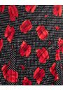 Anna Rose Floral And Spot Print Midi Dress Black/White/Red - Gallery Image 4