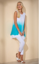 Ombre Layered Sleeveless Top