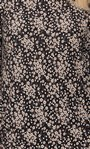 Floral Printed Jersey Tunic Black/Pink - Gallery Image 5