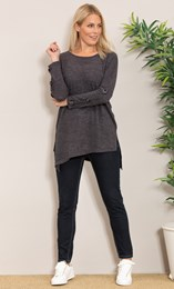 Oversized Knitted Tunic
